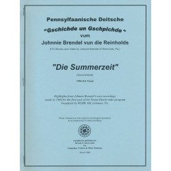 Die Summerzeit (Digital Download)