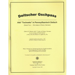 "Deitscher Gschpass - Aldi ""Tschoeks"" in Pennsylfaanisch Deitsch (Digital Download)"